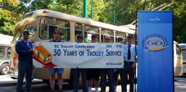 Celebration of the 60th Anniversary of Trolley Bus Service - August 16, 2008