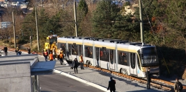 Flexity Streetcar offloading ceremony - December 7th, 2009