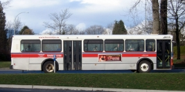 Loaned buses from BC Transit - February and March 2007