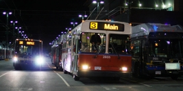 Last night of Flyer trolley