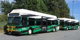 GM-Allision Diesel-Electric Parallel Hybrid Drive: 1998 New Flyer DE40LF