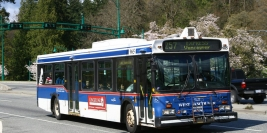 1995 New Flyer D40LF (West Vancouver Municipal Transit)