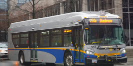 "2012 New Flyer XD40 ""Xcelsior"" (West Vancouver Municipal Transit)"